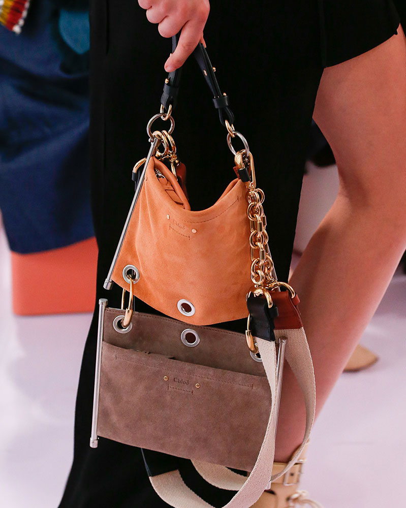 Chloé Mini Bag Runway 2018 Spring