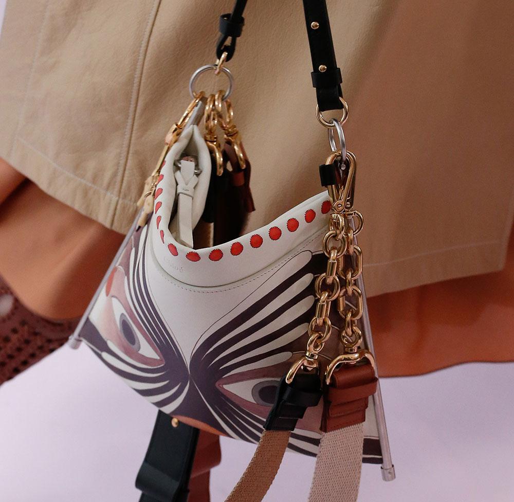 Chloé Mini Bag Runway 2018 Spring