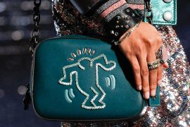 Coach's Spring 2018 Runway Bags Pay Tribute to Artist and AIDS Activist Keith Haring