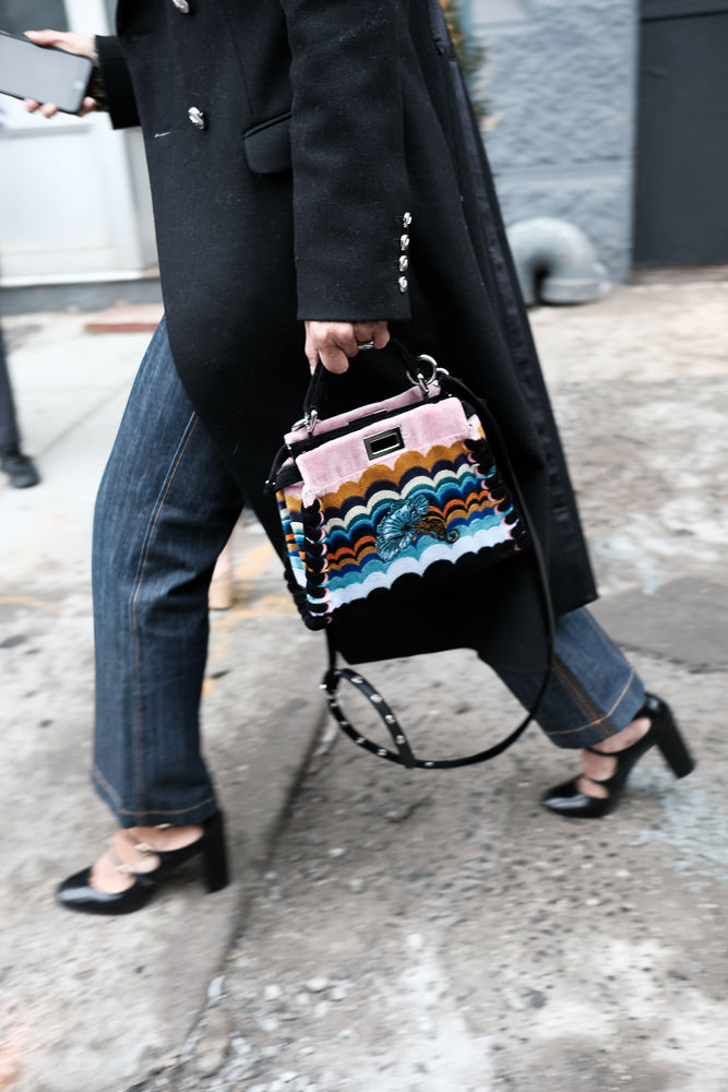 b2191d6c7d6 Our 40 Favorite Street Style Handbag Photos of New York Fashion ...