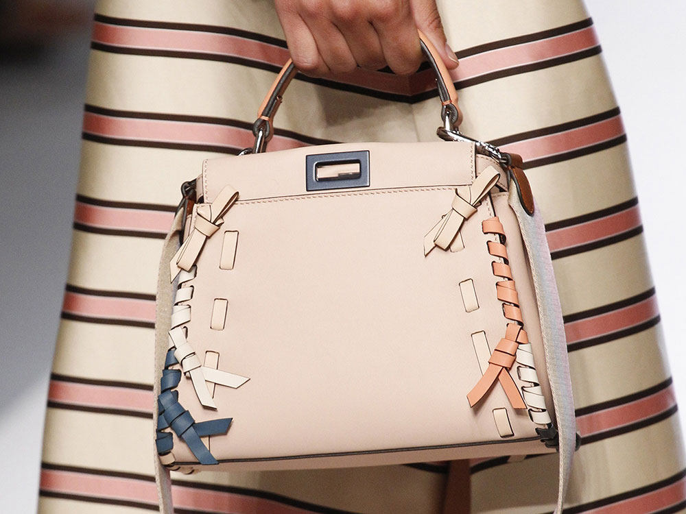 Fendi s Spring 2018 Bags Use Logos and Plaid to Spice Up Peekaboos and  Bucket Bags  ee1fbd0553540