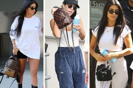 Just Can't Get Enough: Kourtney Kardashian Loves Her Mini Backpacks