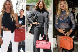 Just Can't Get Enough: Laverne Cox Loves Her Hermès Bags