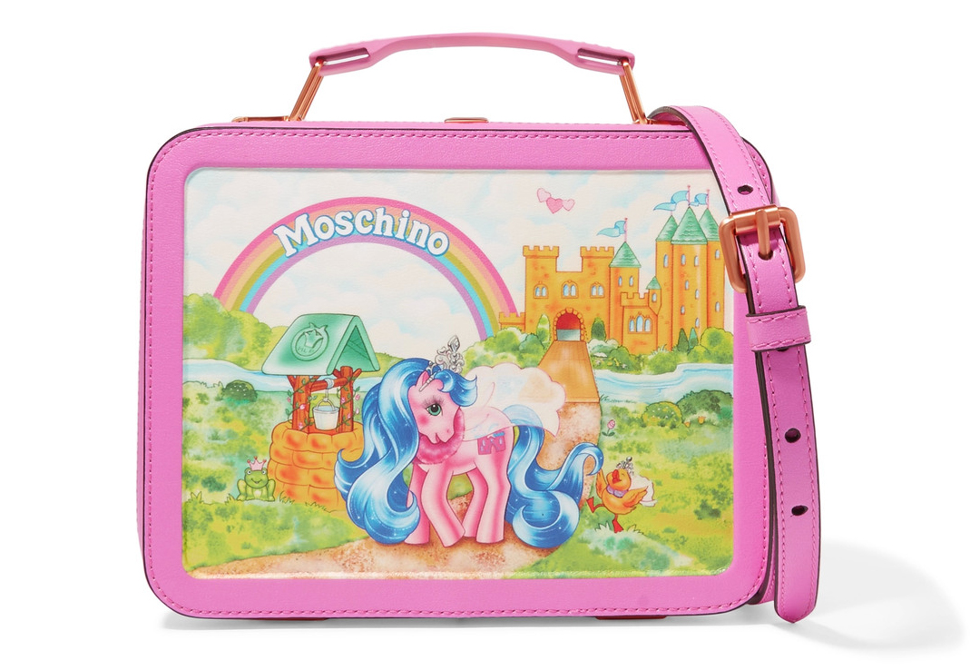 Moschino My Little Pony Lunchbox Bag 1