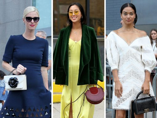 The Many Bags of New York Fashion Week Spring 2018's Celebrity Attendees