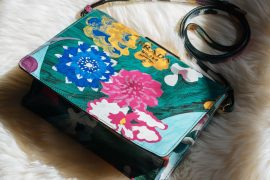 Falling for Floral With The Prada Frame Bag