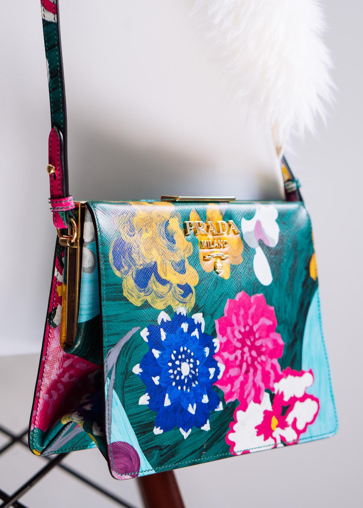 df375d700e05 Falling for Floral With The Prada Frame Bag - PurseBlog