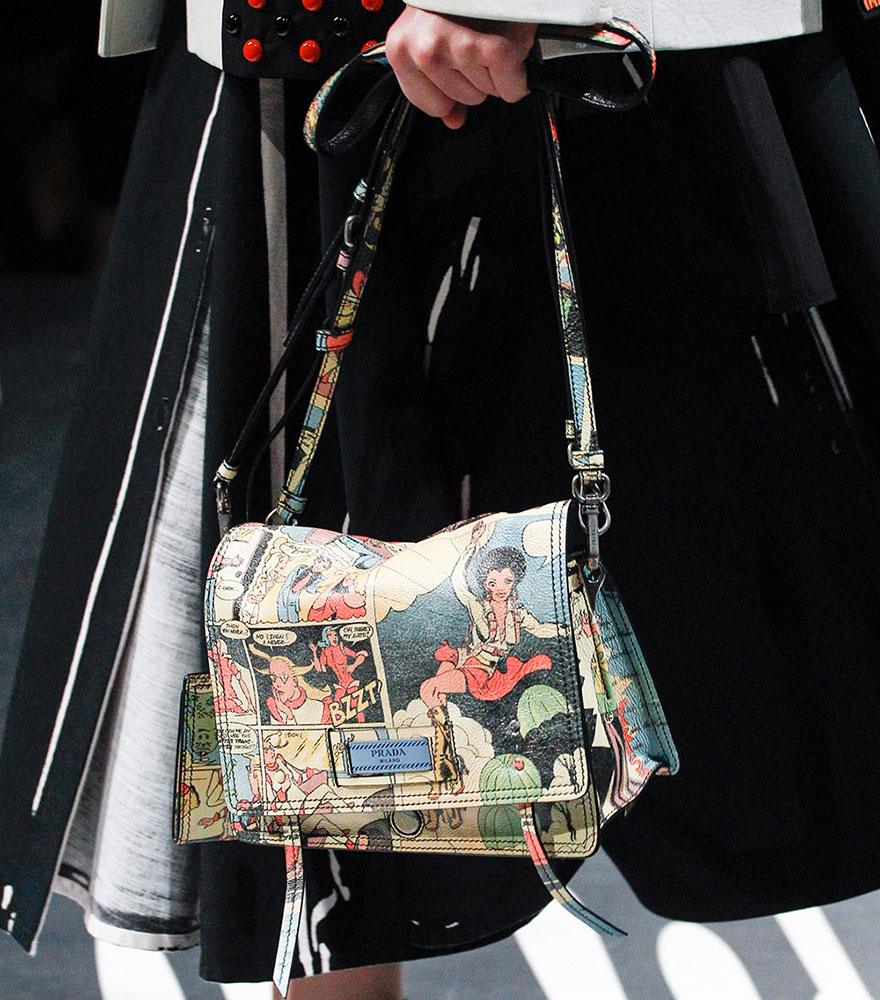 0092c3d8f5ac Prada's Spring 2018 Runway Bags Included Lots of Nylon and a Cast of ...