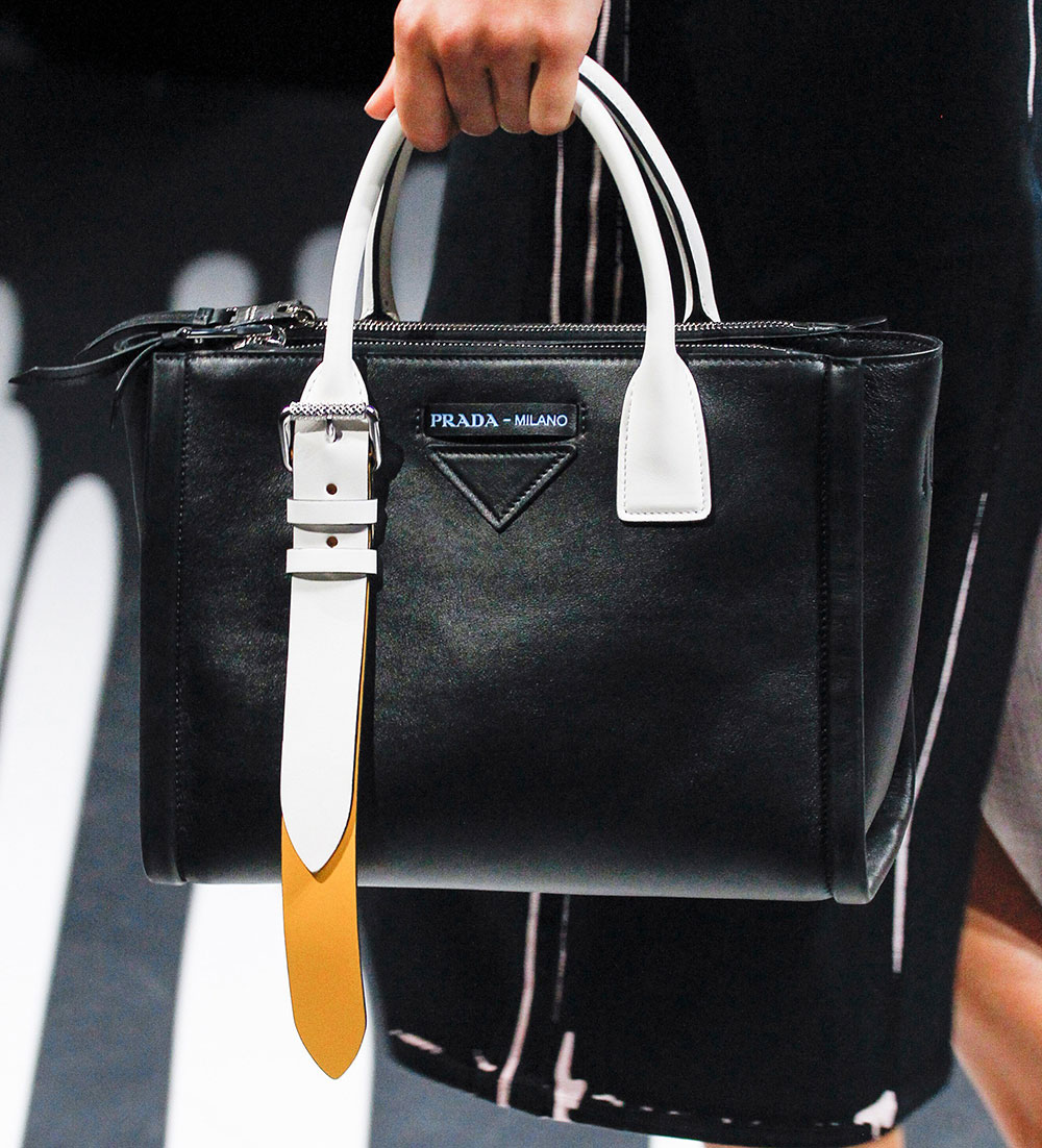 396f64670208 Prada s Spring 2018 Runway Bags Included Lots of Nylon and a Cast of ...
