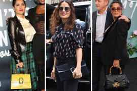Just Can't Get Enough: Salma Hayek and Her Gucci Bags