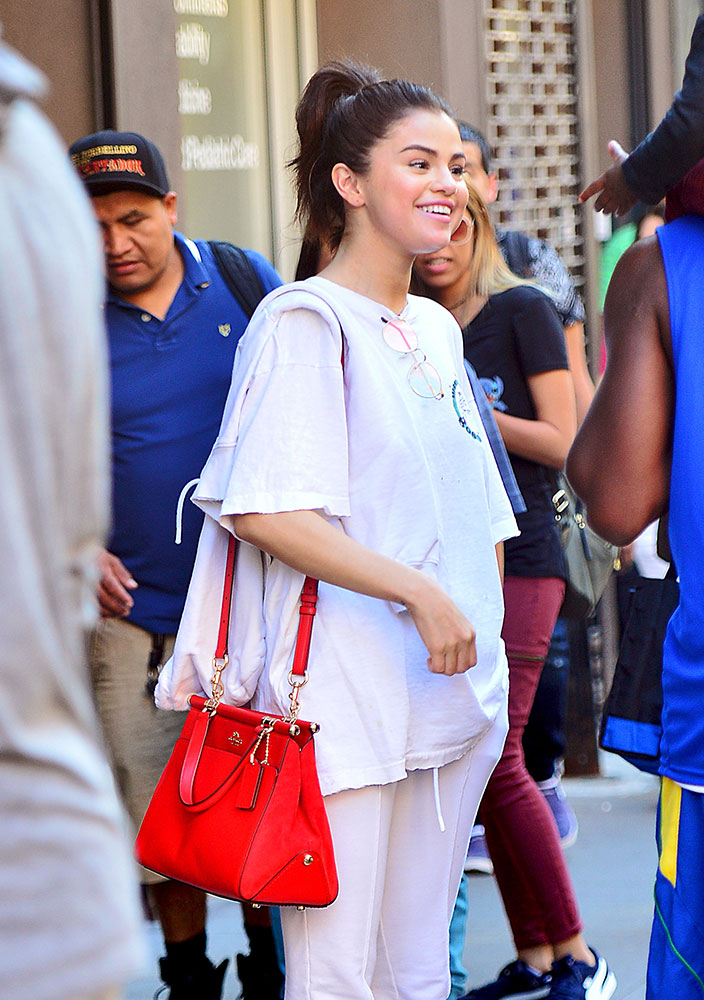 Selena Gomez is Doing Fine Work Promoting Her Coach Collab ...