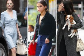 Selena Gomez is Doing Fine Work Promoting Her Coach Collab Bag on Her Personal Time