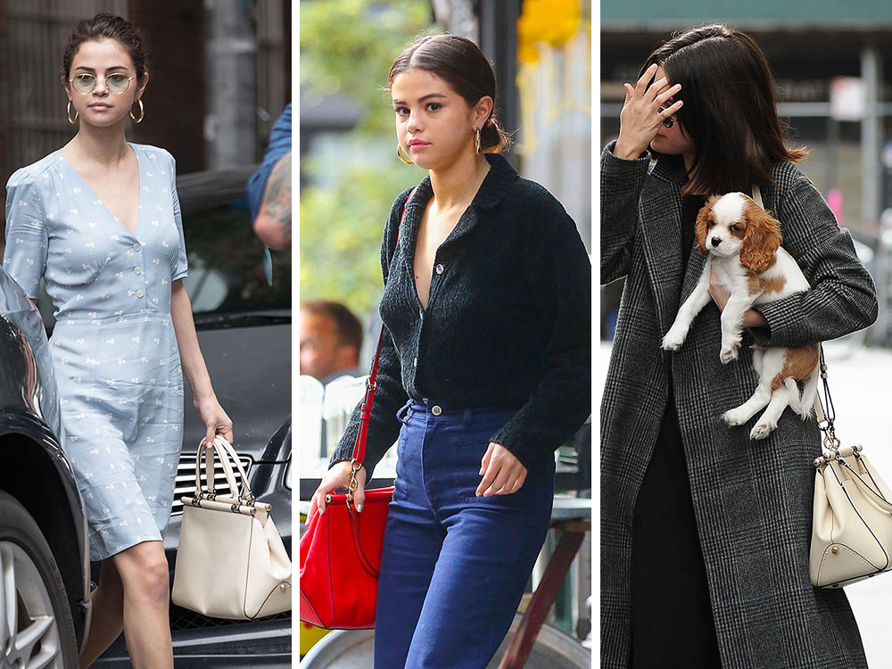71a27bda5fff8 Selena Gomez is Doing Fine Work Promoting Her Coach Collab Bag on Her  Personal Time