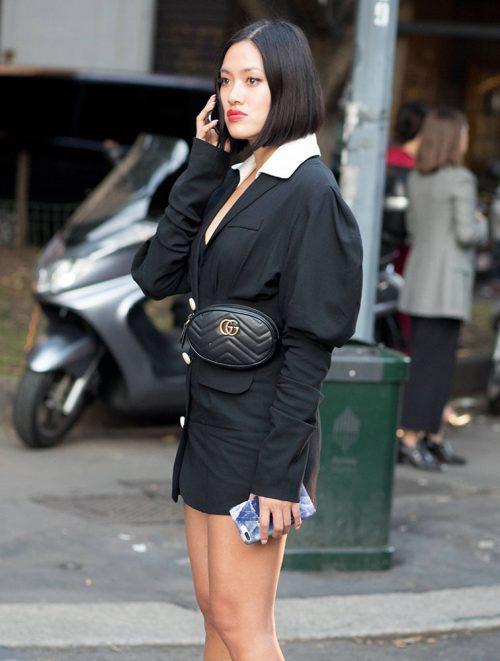 Tiffany Hsu Gucci Marmont Belt Bag Purseblog