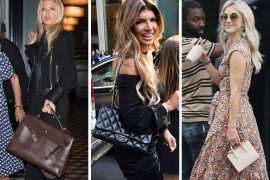 Celebs Hit the Press Circuit with Salvatore Ferragamo, Dior and Chanel