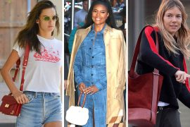 This Week, Celebs Chose Bags from Gabriela Hearst, Chanel and Many Up-and-Coming Designers
