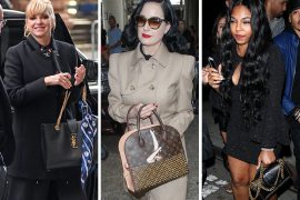 This Week, Celebs Don't Stray Far from Chanel and Louis Vuitton Bags