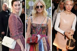 The Many Bags of Paris Fashion Week Spring 2018's Celebrity Attendees