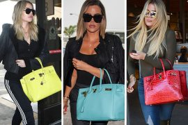 Just Can't Get Enough: Khloé Kardashian Loves Her Colorful Hermès Birkins
