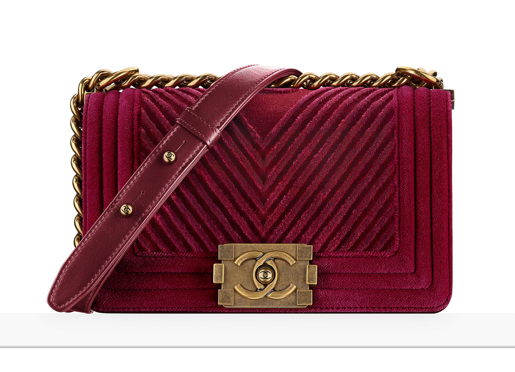 i really want this velvet chanel boy bag purseblog