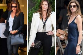 You Haven't Been Paying Enough Attention to Cindy Crawford's Bags