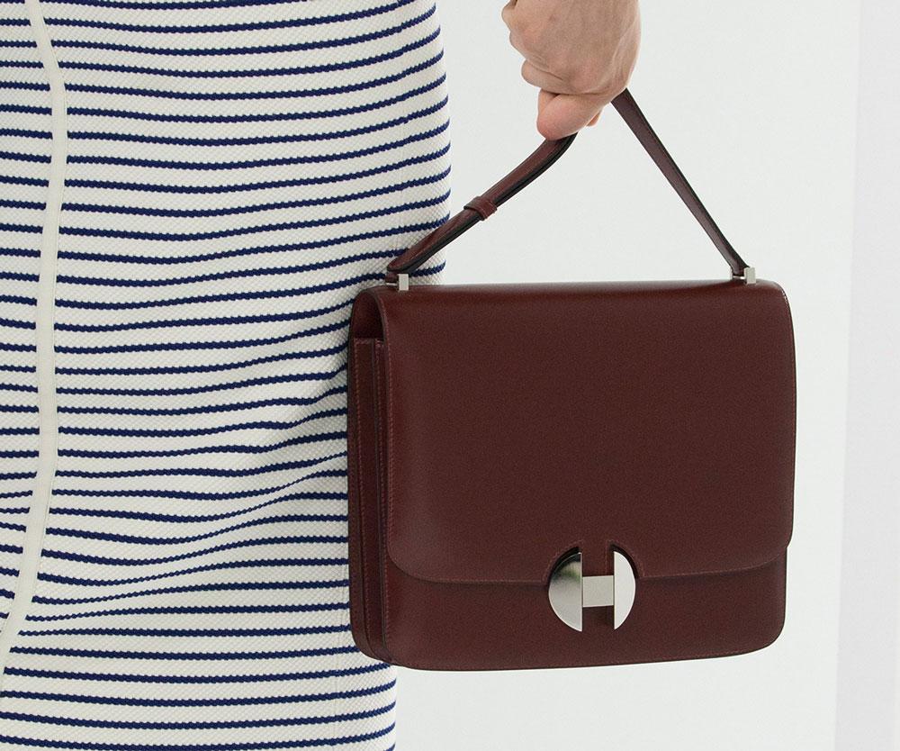 Hermès Shoulder Bag Spring 2018 Runway