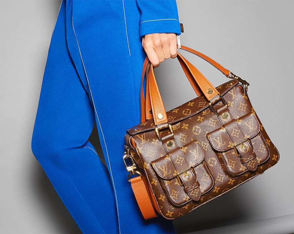 934d076bd21f Louis Vuitton Has Relaunched the Manhattan Bag with a Whole New Look ...