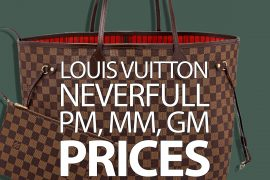The International Louis Vuitton Neverfull Price Guide