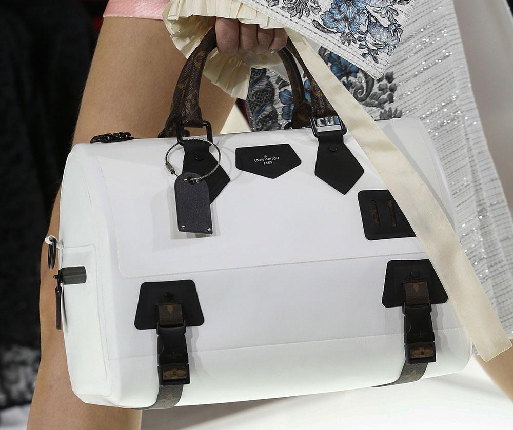 Louis Vuitton S Spring 2018 Runway Bags Went In An Angular Minimal