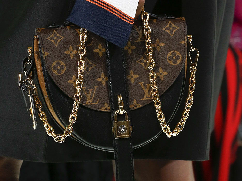 1a863f5b69e3 Louis Vuitton s Spring 2018 Runway Bags Went in an Angular