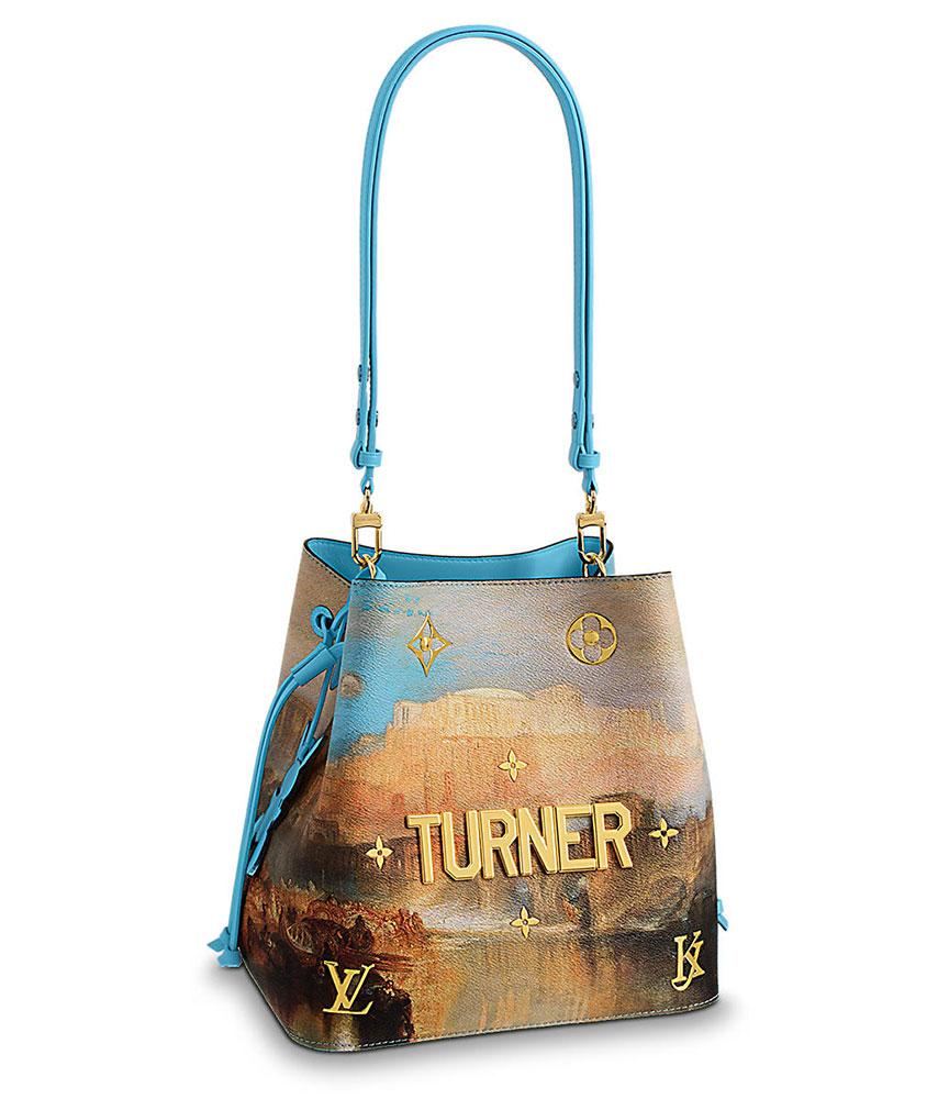 Louis Vuitton X Jeff Koons Turner Neonoe Bag