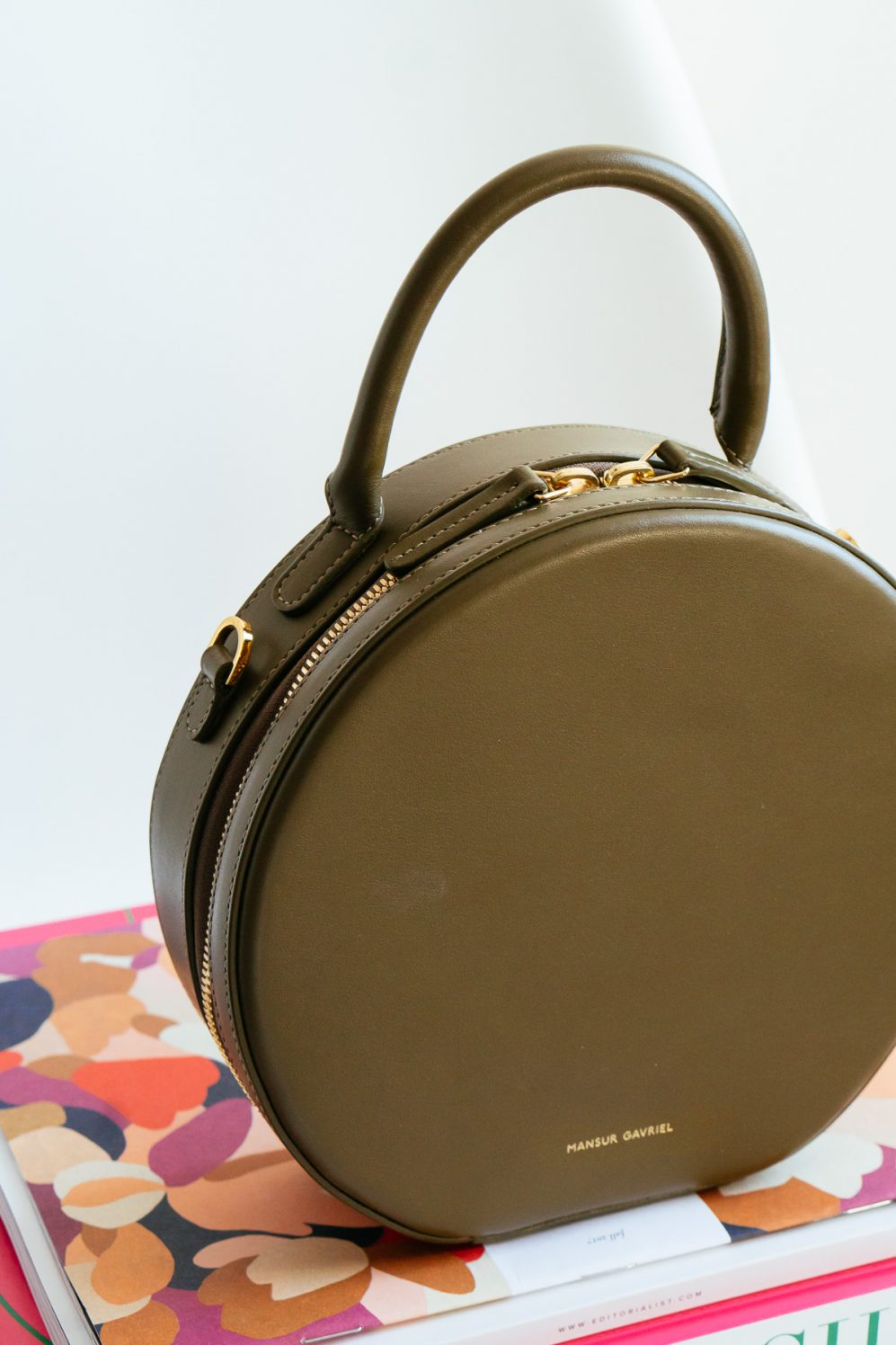 new images of online store classic shoes Loving Lately: The Mansur Gavriel Circle Crossbody Bag ...
