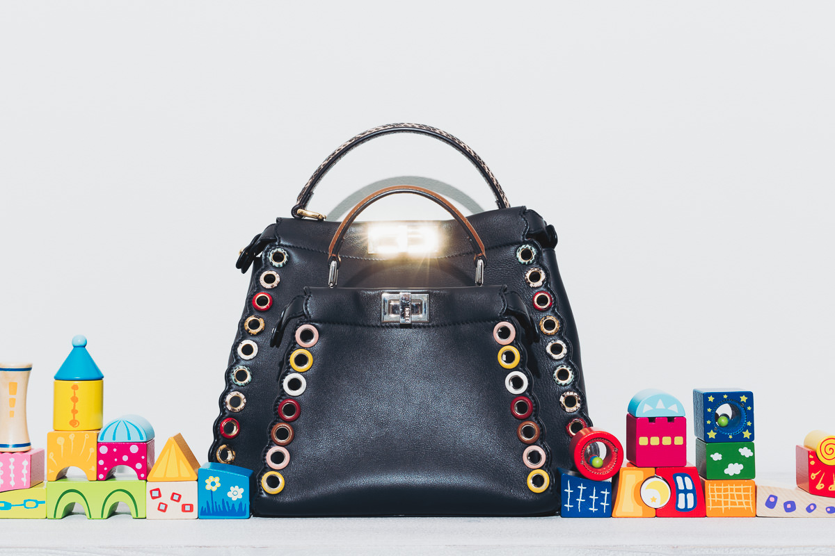 ece7b38925b8 Fendi was ahead of the curve when it comes to Micro bags, and the Peekaboo  is a personal favorite.