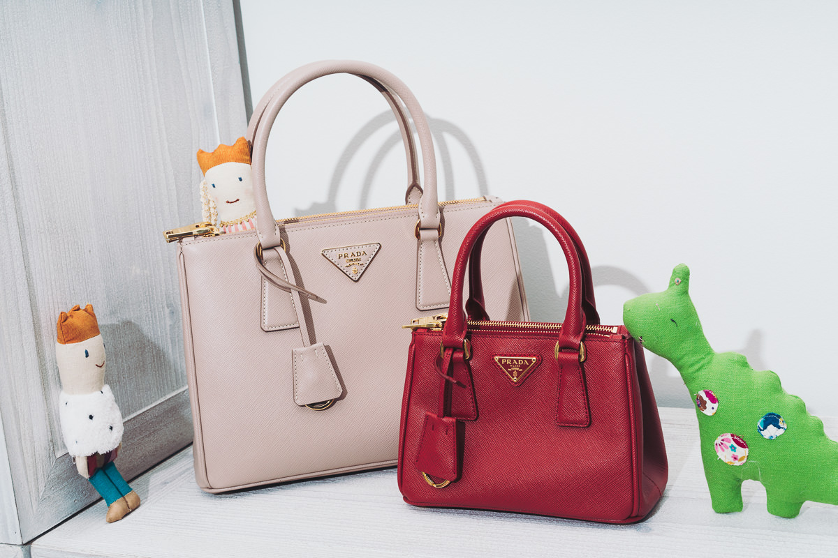 7e7ec25ee58a I adore the Prada Galleria Bag and the fact that there are so many sizes  meant there was one perfect for Millie.