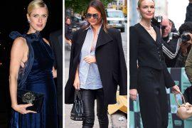 Celebs Ooze Elegance with Luxe Bags from Alexander Wang, Oscar de la Renta, & Tomasini