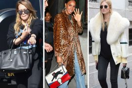 This Week, Celebs Go (Almost) All Black with Bags from Gucci, MCM and Chloé