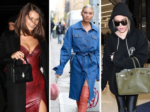For This Week's Bags, Celebs Are Thinking Furry, Fuzzy, Fendi and Furla
