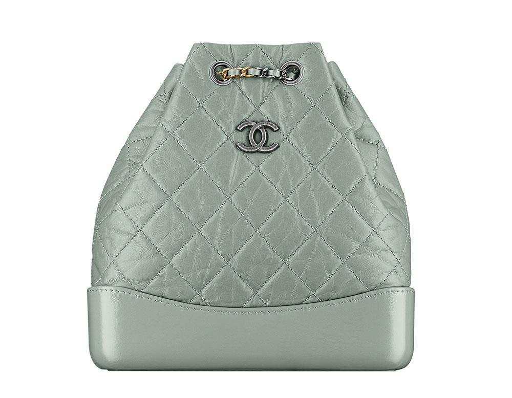 Chanel-Gabrielle-Backpack-Green-3000 - PurseBlog 83b84bab0aead