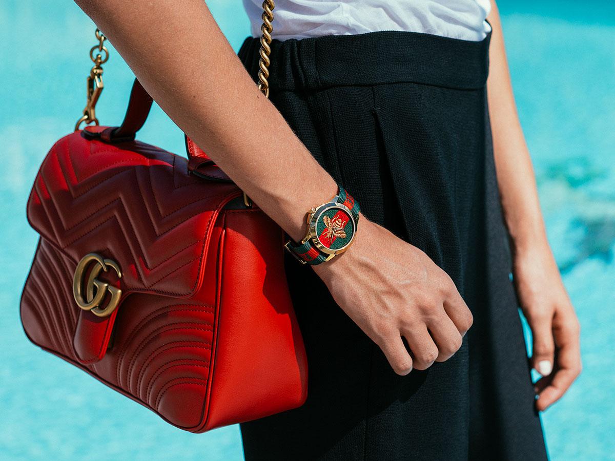 to wear - Handbags Gucci video
