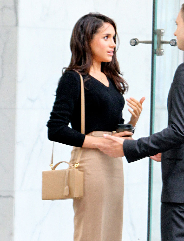 Take a Look at Future Royal Meghan Markle's Handbag ...