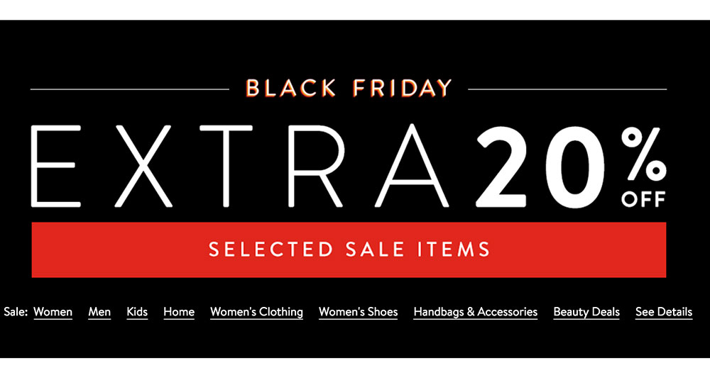 What clothing stores have the best black friday sales