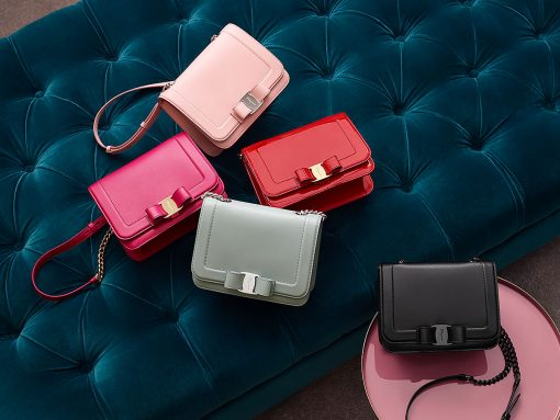 Salvatore Ferragamo Strikes Gold with its Colorful Vara Rainbow Bags