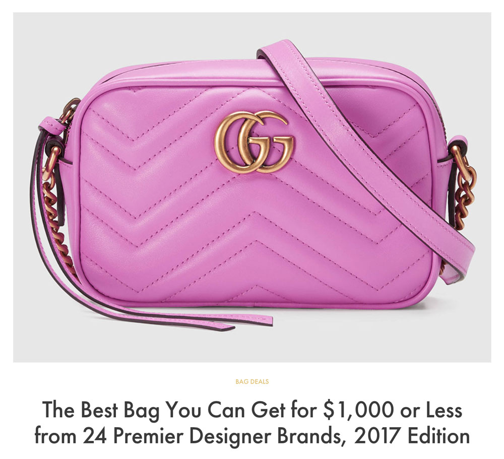 e4ec98dbf3c The Best Bag You Can Get for $1,000 or Less from 24 Premier Designer ...