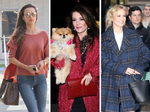 Seasons Change, and So Do the Silhouettes of Celebs' Fave Bags from Givenchy, Alexander McQueen and Simon Miller