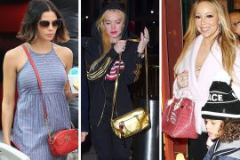 Baby Showers, Bowling and Jingle Balls Bring Out Celeb Bags from Gucci, Chanel and Dior
