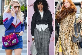 This Week, Celebs Outfitted Themselves with Croc, Clutches and Box Bags
