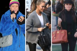 This Week, Celebs Kept It Simple and High-End with Chanel Flaps, Birkins and Givenchy Antigonas