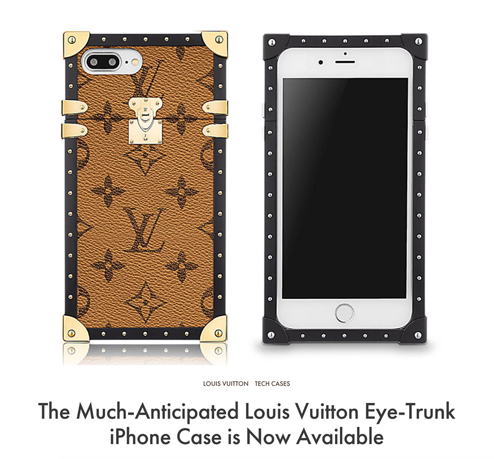 cheap for discount 9ca04 9fe38 The Much-Anticipated Louis Vuitton Eye-Trunk iPhone Case is Now ...