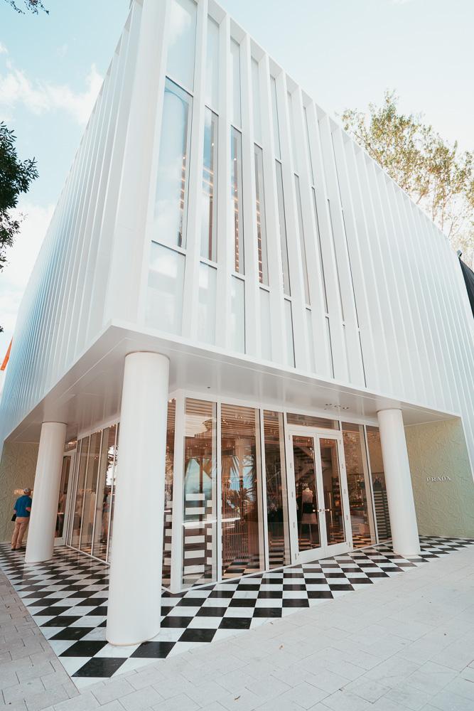Exclusive Look at Prada\'s New Miami Design District Store - PurseBlog