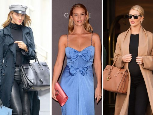 Rosie Huntington-Whiteley and Her Handbags are Back on the Paparazzi Radar, Post-Baby